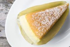 Butter cake sliced Stock Image