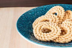 Butter Chakli with spicy famous South Indian Traditional Snack o Stock Photos