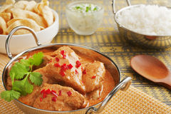 Butter Chciken Curry Royalty Free Stock Image