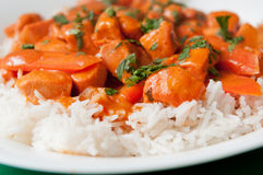 Butter chicken Royalty Free Stock Photography