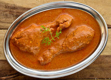 Butter Chicken Curry Stock Image