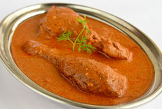 Butter Chicken Curry Stock Photo