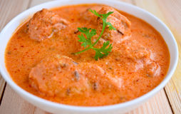 Butter Chicken Curry Royalty Free Stock Image