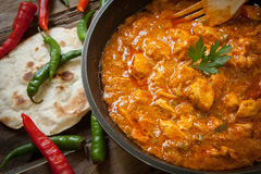 Butter chicken curry Royalty Free Stock Images