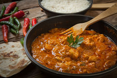 Butter chicken curry Royalty Free Stock Photo