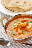 Butter chicken , indian cuisine Royalty Free Stock Photos