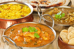Butter Chicken Indian Curry Royalty Free Stock Photo
