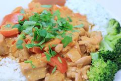 Butter chicken 6 Royalty Free Stock Photo