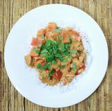 Butter chicken 1 Stock Images