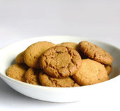 Butter and chocolate cookies Royalty Free Stock Photo