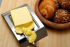 Butter closeup Stock Photo