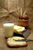 Butter closeup Stock Image