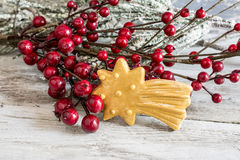 Butter cookie christmas Royalty Free Stock Image