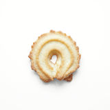Butter cookie from Germany Royalty Free Stock Photo