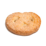 Butter cookie isolated Stock Photo