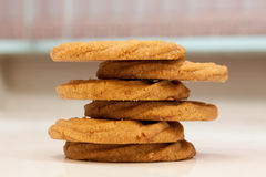Butter cookies Stock Photography