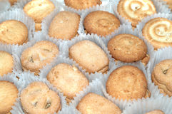 Butter cookies. It is difference shape Denmark butter cookies Royalty Free Stock Photo