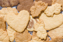 Butter Cookies for celebrations Stock Photos