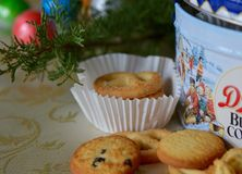 Butter cookies, Christmas Royalty Free Stock Photos