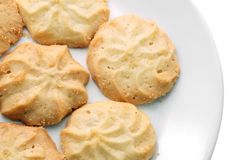 Butter cookies. Stock Image