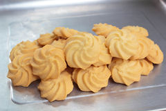 Butter cookies. Royalty Free Stock Images