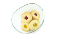 Butter cookies Royalty Free Stock Image