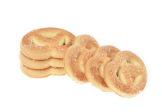 Butter cookies Stock Photos