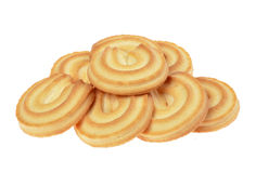 Butter cookies Royalty Free Stock Images