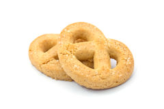 Butter cookies Stock Image