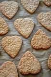 Butter cookies for mother's day Stock Photos