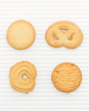 Butter Cookies Set. Stock Photo