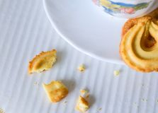 Butter cookies Royalty Free Stock Photo