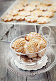 Butter cookies Royalty Free Stock Photography