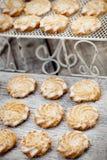 Butter cookies Stock Photos