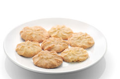 Butter cookies. Royalty Free Stock Image