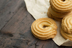 Butter Cookies Royalty Free Stock Photos