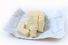 Butter with cover Royalty Free Stock Images