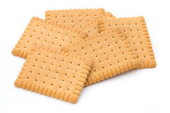 Butter cracker, cookie. Stock Photo