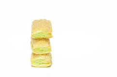 Butter cracker Royalty Free Stock Photography