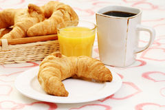Butter croissant Royalty Free Stock Image
