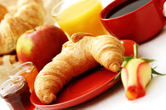Butter croissant Royalty Free Stock Images