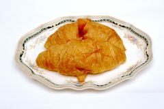 Butter croissant Royalty Free Stock Photos