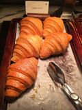 Butter croissants Stock Photography