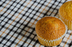 Butter Cup Cake. Butter cup cake is baking menu for tea break Stock Image