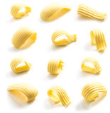 Butter curl isolated Stock Image