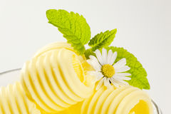 Butter curls Stock Image