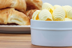 Butter Curls Royalty Free Stock Photos