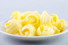 Butter curls Royalty Free Stock Images