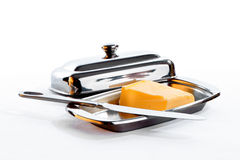 Butter in den speziellen Waren Stockfotos