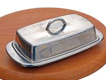 Butter dish Royalty Free Stock Image